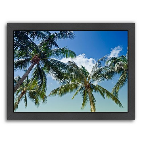 Americanflat Palm Trees Framed Wall Art