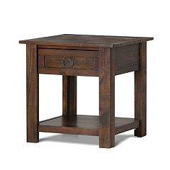 Simpli Home Monroe End Table