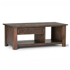 Simpli Home Monroe Rectangular Coffee Table