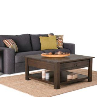 Simpli Home Monroe Square Coffee Table
