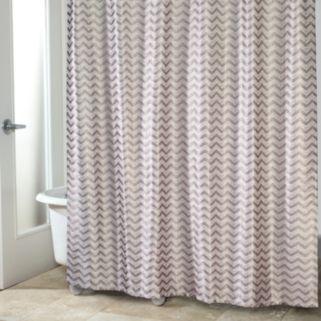 Avanti Chevron Shower Curtain