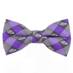 Adult NFL Check Woven Bow Tie