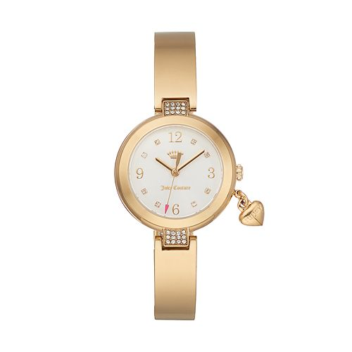 Juicy Couture Women's Sienna Crystal Half Bangle Watch - 1901495