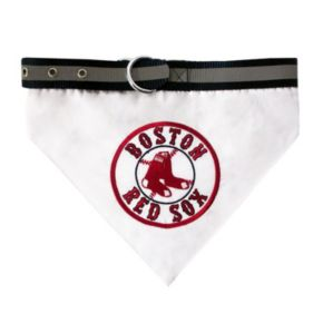 Pets First Boston Red Sox Bandana Collar