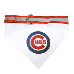 Pets First Chicago Cubs Bandana Collar