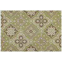 Kaleen Habitat Courtyard Medallion Indoor Outdoor Rug