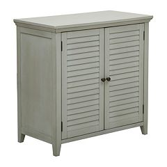 Pulaski Louvered Bathroom Storage Cabinet