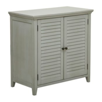 Pulaski Louvered Bathroom Storage Cabinet