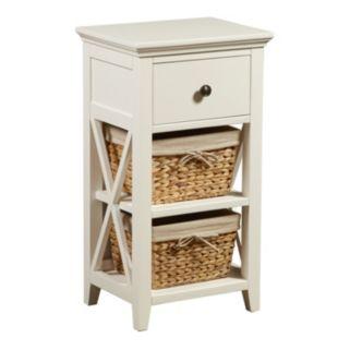 Pulaski Basket Bathroom Storage Cabinet