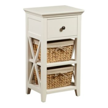 Pulaski Basket Bathroom Storage Cabinet