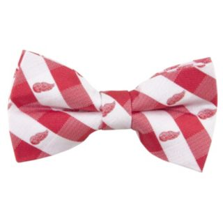 Adult NHL Check Woven Bow Tie