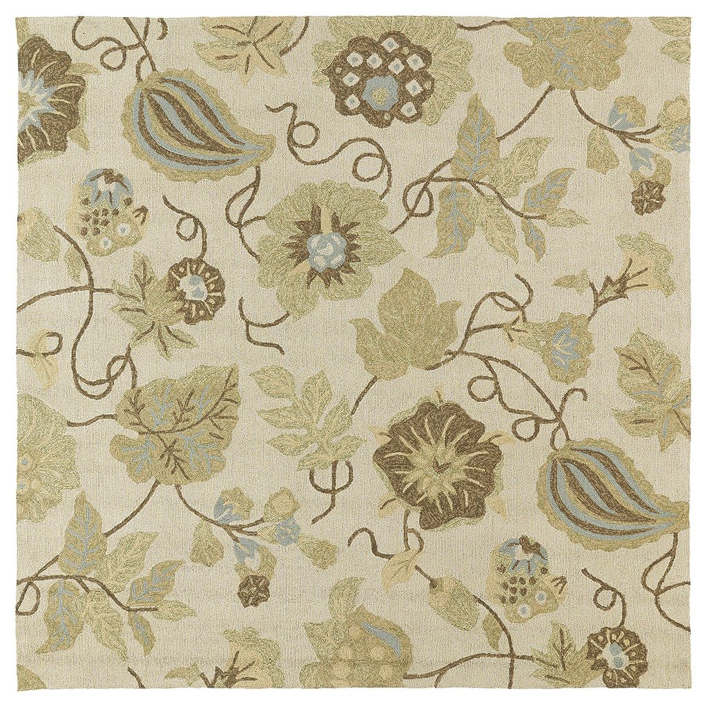 Kaleen Habitat Garden Harbor Floral Indoor Outdoor Rug