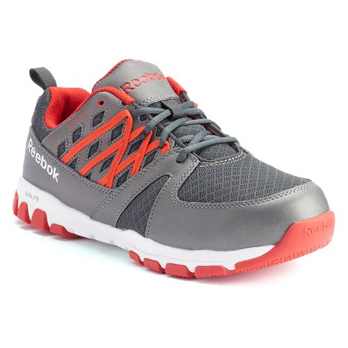 Reebok Work Sublite Work Men's Steel-Toe Athletic Shoes