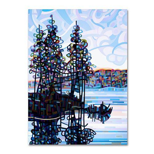 Trademark Fine Art Haliburton Morning Canvas Wall Art