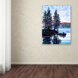 Trademark Fine Art Haliburton Morning Canvas Wall Art