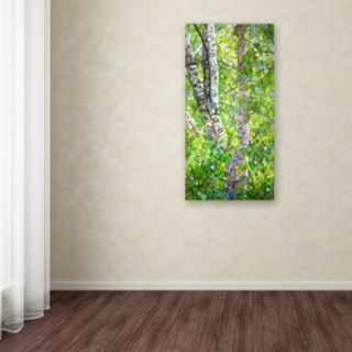 Trademark Fine Art Hide And Seek Canvas Wall Art