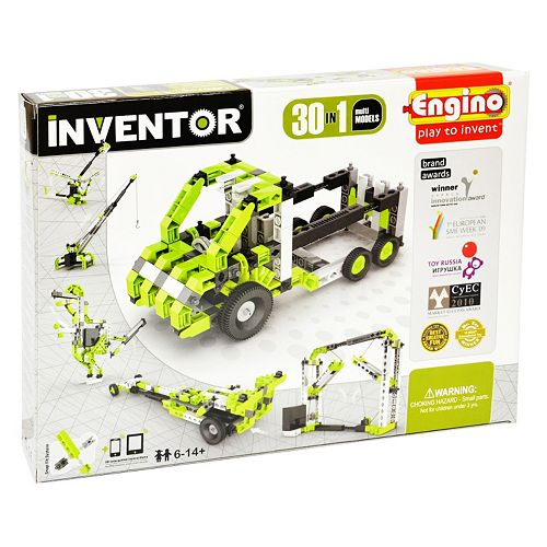 Engino Inventor 30-Model Motorized Kit