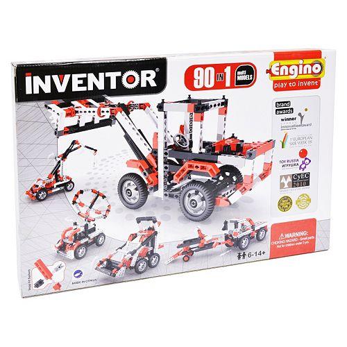 Engino Inventor 90 Models Motorized Kit