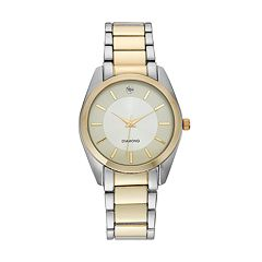 Men's Diamond Two Tone Watch