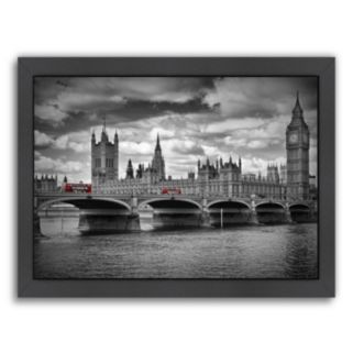 Americanflat London Houses Of Parliament Framed Wall Art