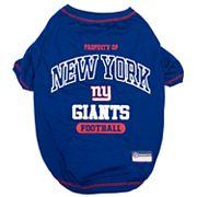 New York Giants Pet Tee