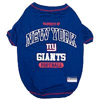New York Giants Pet Tee