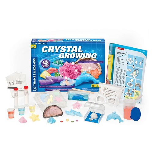 Thames & Kosmos Crystal Growing Experiment Kit