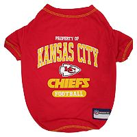 Kansas City Chiefs Pet Tee