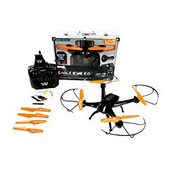 Eagle Eye 2.0 Live Streaming Video Quadcopter Drone by