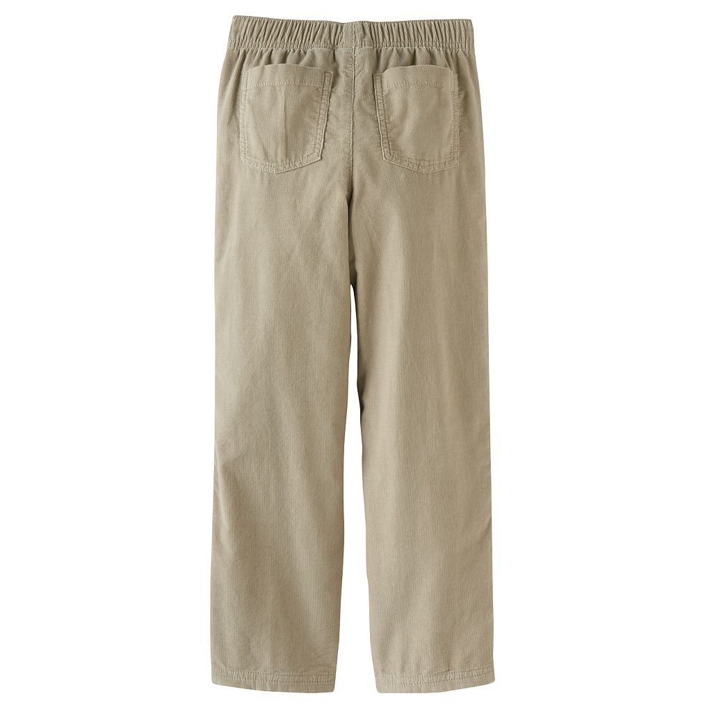 Boys 4-10 Jumping Beans® Jersey Knit-Lined Corduroy Pants