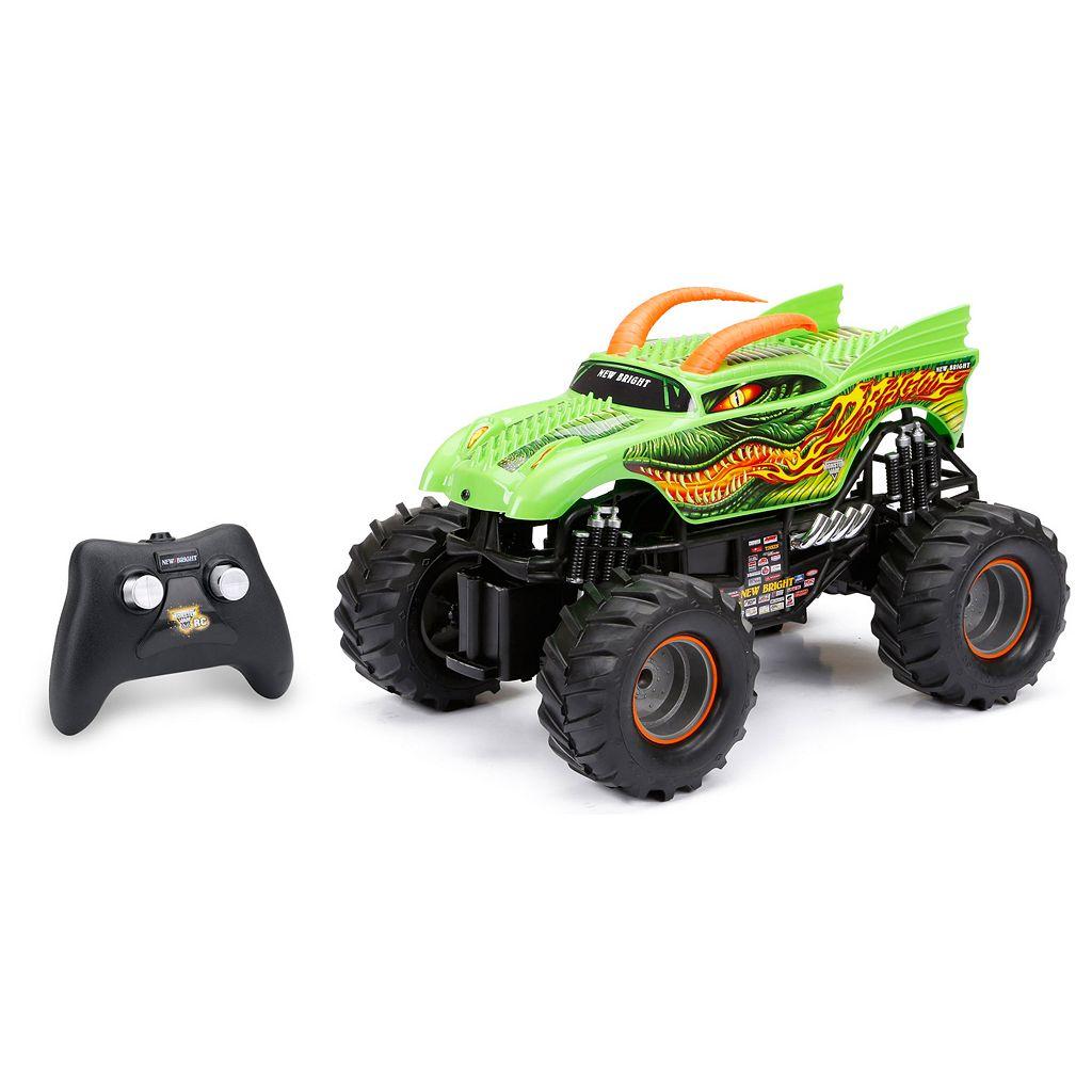 New Bright 1:15 R/C Full Function Monster Jam Dragon Truck