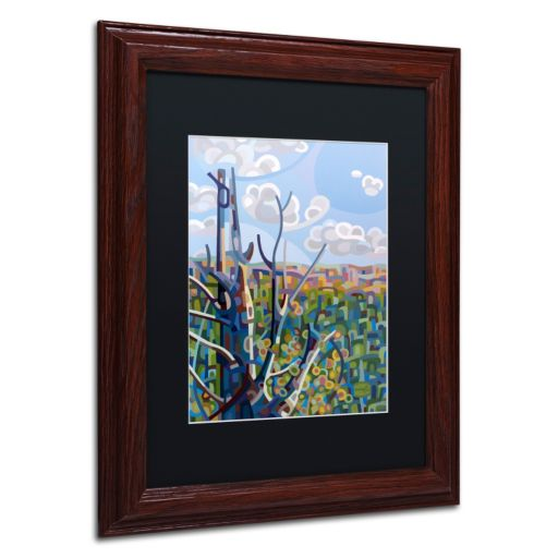 "Trademark Fine Art Mandy Budan ""Hockley Valley"" Matted Framed Wall Art"