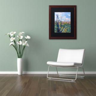"""Trademark Fine Art Mandy Budan """"Hockley Valley"""" Matted Framed Wall Art"""