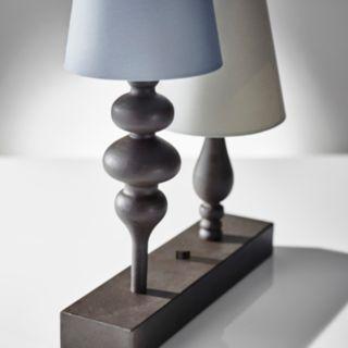 Adesso Jasmine 2-Light Table Lamp
