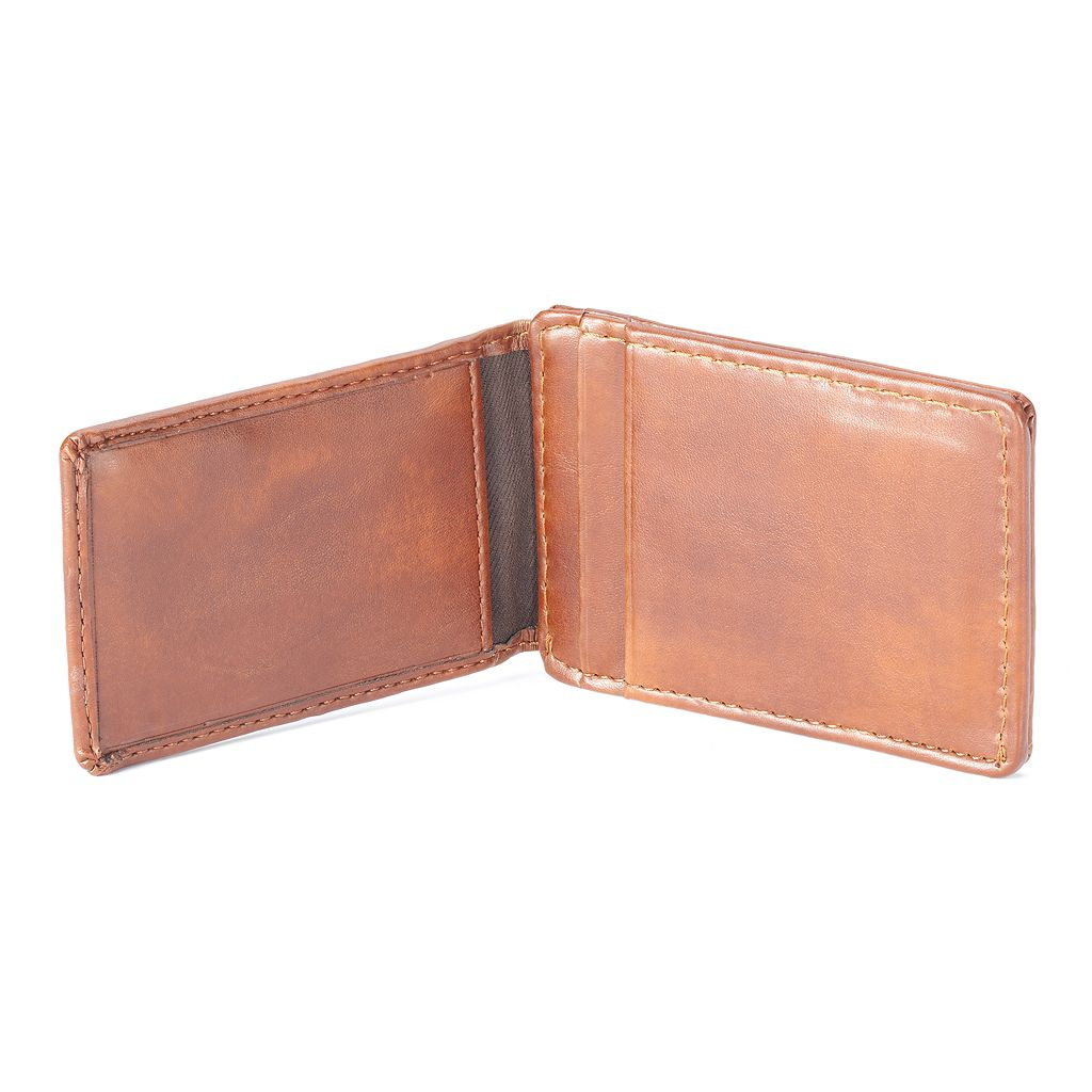 Men's Apt. 9® RFID-Blocking Magnetic Front-Pocket Wallet