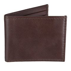 Men's Croft & Barrow Milled Billfold Wallet