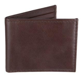 Men's Croft & Barrow Milled Billfold Wallet