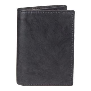 Men's Croft & Barrow® RFID-Blocking Crunch Extra-Capacity Trifold Wallet