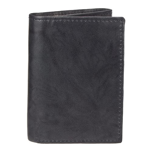 Men's Croft & Barrow® RFID-Blocking Crunch Extra-Capacity Trifold Wallet