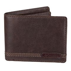 Men's Columbia Extra-Capacity RFID-Blocking Slimfold Wallet