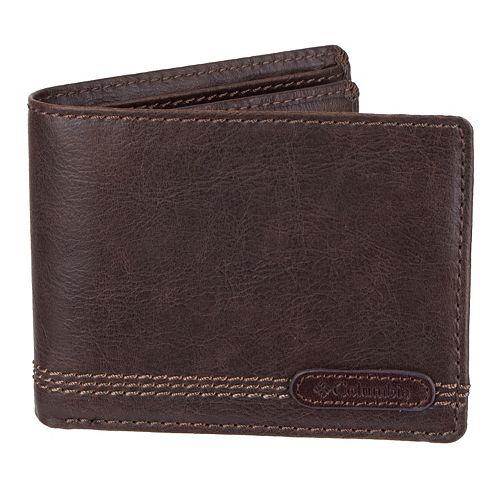 Men's Columbia Extra-Capacity RFID-Blocking Slimfold Wallet