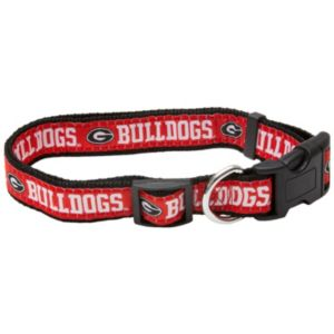 Georgia Bulldogs NCAA Pet Collar