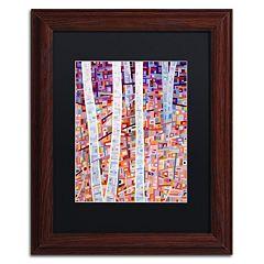 Trademark Fine Art Mandy Budan 'Incandescence' Matted Framed Wall Art