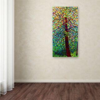 "Trademark Fine Art Mandy Budan ""Kaleidoscope"" Canvas Wall Art"