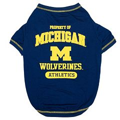 Michigan Wolverines Pet Tee