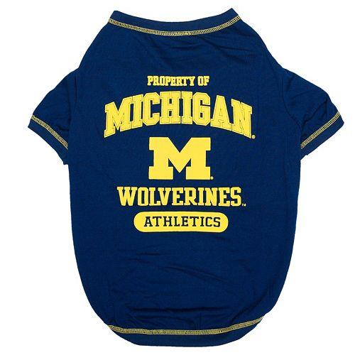 Michigan Wolverines Pet Tee