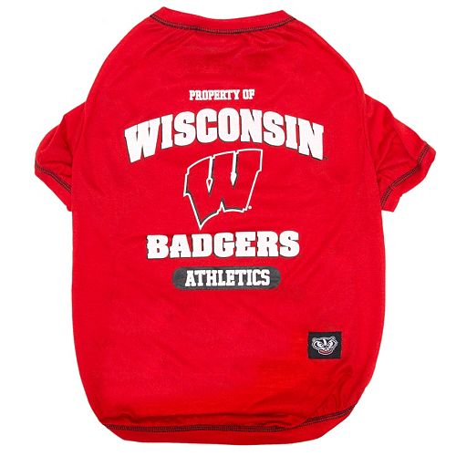 Wisconsin Badgers Pet Tee