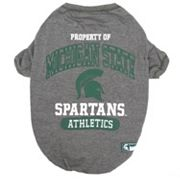 Michigan State Spartans Pet Tee