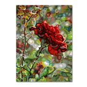 Trademark Fine Art Mandy Budan 'Last Rose Of Summer' Canvas Wall Art