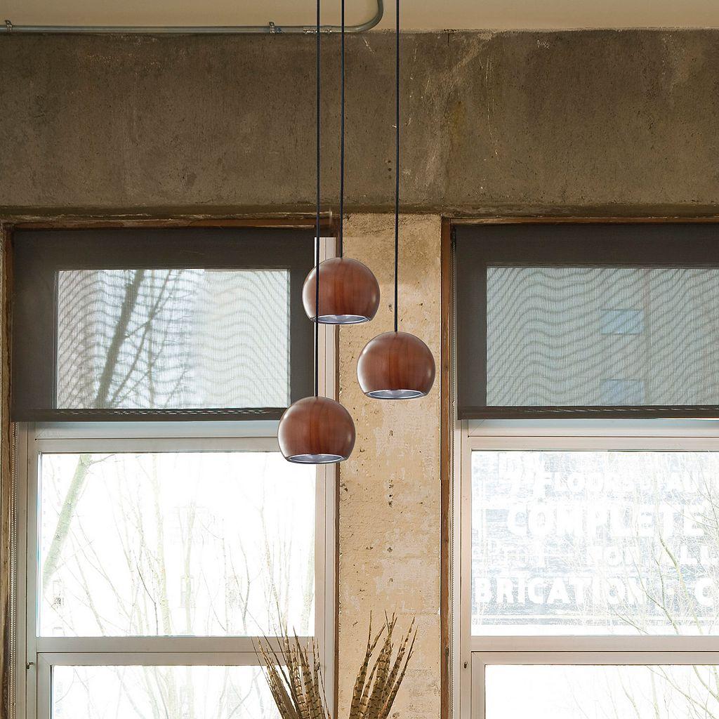 Adesso Cypress LED Round Pendant Lamp